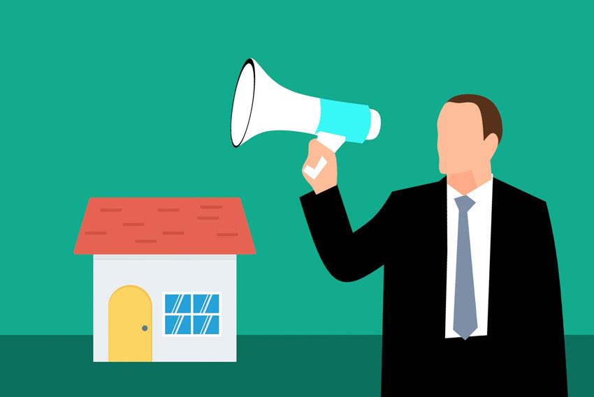 vendedor agente inmobiliario